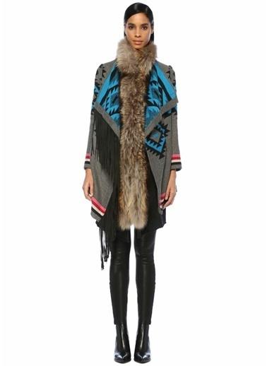 Bazaar Deluxe Palto Gri